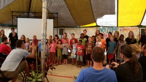 Missionary kids- they got to do VBS this week
