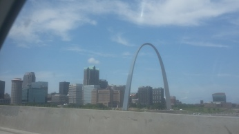 Views as we passed St. Louis